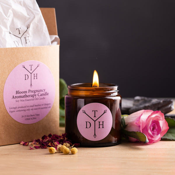 Bloom Pregnancy Relaxation Aromatherapy Candle