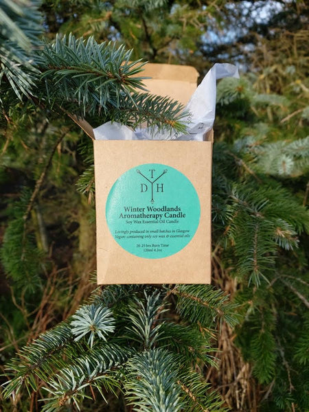Winter Woodland Candle