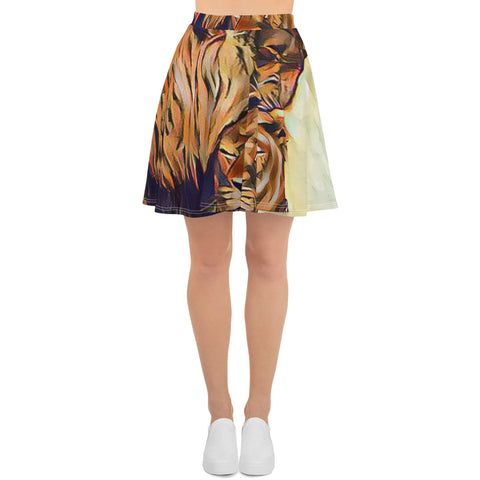 Kingdom Lions Skater Skirt