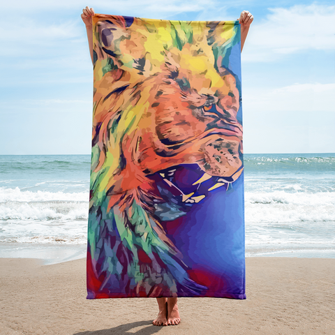 Lion Heart Towel