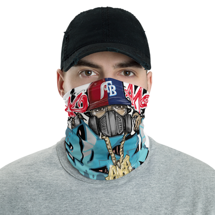 ZeeRoC aka ZeY Gate 33 Graffiti Neck gaiter