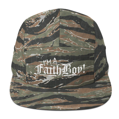 I'm a Faith Boy! Five Panel Cap