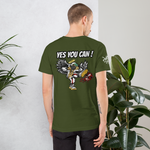 Can I Kick It Short-Sleeve Unisex T-Shirt