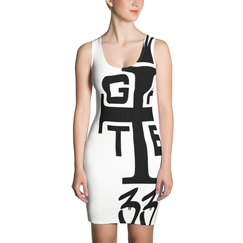 New Age Gate 33 Cross Sublimation Cut & Sew Dress