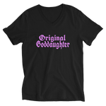 Original Goddaughter OG Unisex Short Sleeve V-Neck T-Shirt