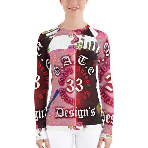 Gate 33 Designs Women's Rash Guard