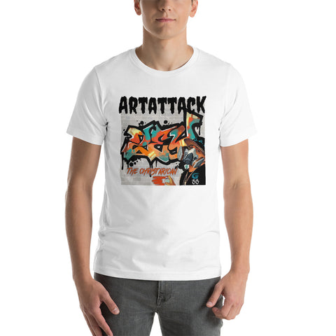 Gate33 Artattack Short-Sleeve Unisex T-Shirt