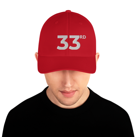 33rd Structured Twill Cap