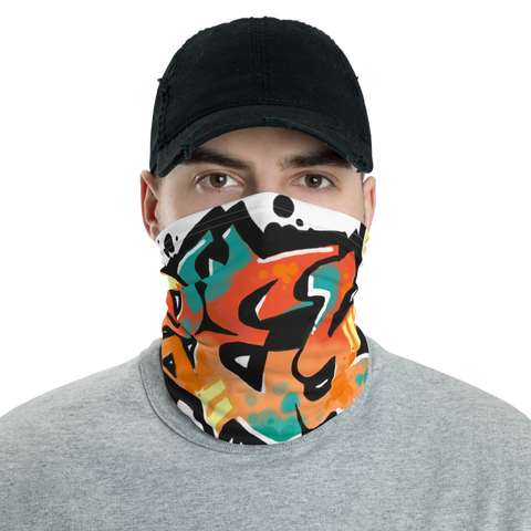 ZeY Gate 33 Graffiti Neck gaiter