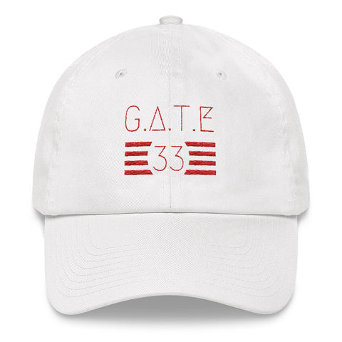 Gate 33 Stripes Dad hat