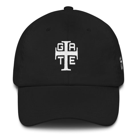 Gate 33 Cross logo Dad hat