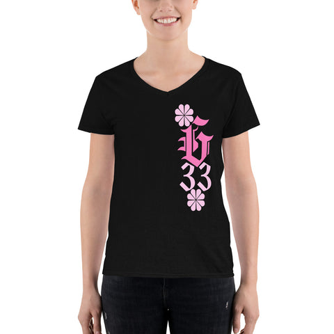 Gate 33 Women's Casual V-Neck Shirt