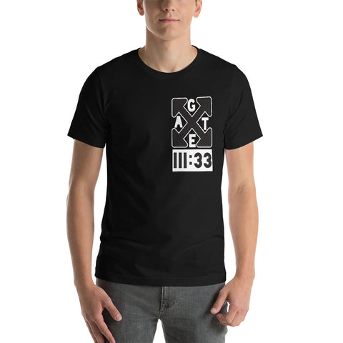 X Gate III:33 Short-Sleeve Unisex T-Shirt