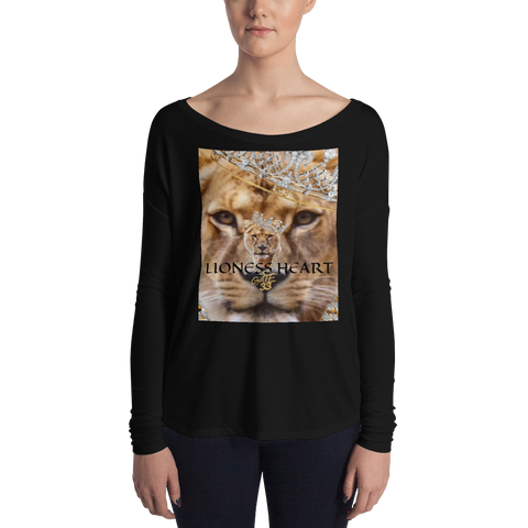 Lioness Heart Ladies' Long Sleeve Tee