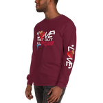 Love Cast Out All Fear Men's Long Sleeve Shirt