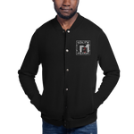 Gate 33 Muzik Embroidered Champion Bomber Jacket
