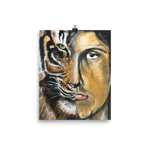 Eye of the Tiger Wall Art