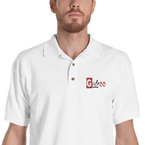Gate XXXIII Embroidered Polo Shirt