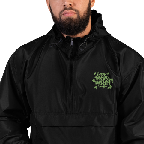 Gate 33 Embroidered Champion Packable Jacket