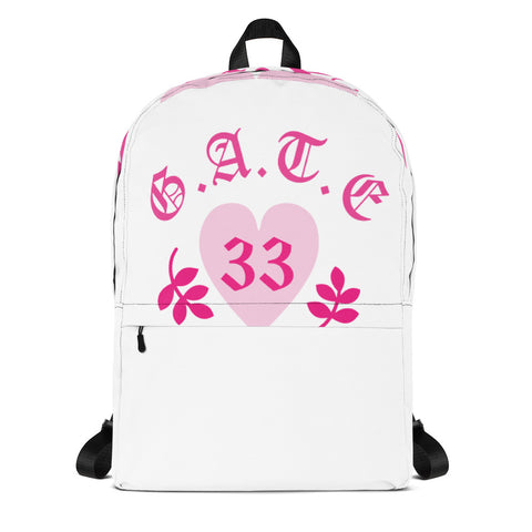 Pink Heart Gate 33 Backpack