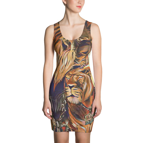 King & Queen G 33 Sublimation Cut & Sew Dress