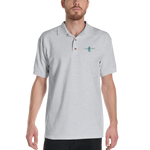 Lion Heart Embroidered Polo Shirt