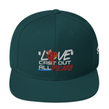 Love Cast Out All Fear Snapback Hat