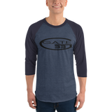 Gate 33 3/4 sleeve raglan shirt