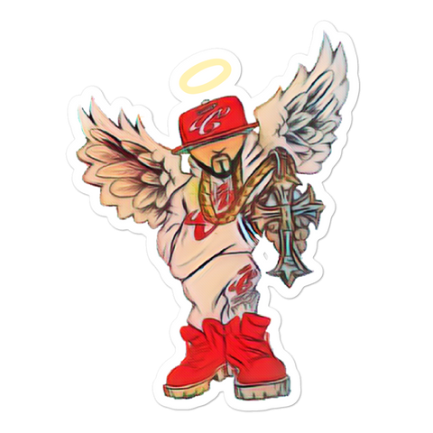 Angel of War Bubble-free stickers