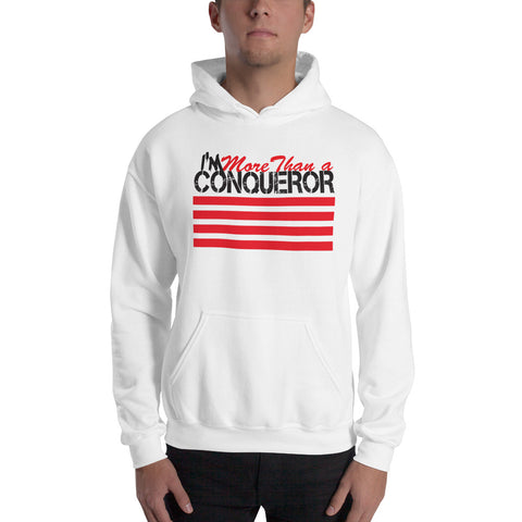 I'm More than a Conqueror Hooded Sweatshirt