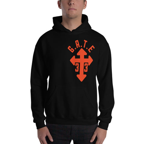 Tangie Cross Hooded Sweatshirt