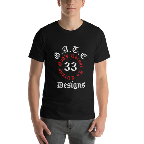 Gate 33 Logo Short-Sleeve Unisex T-Shirt
