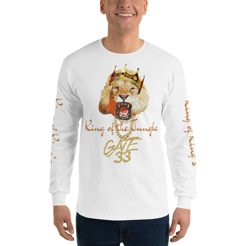 King's Jungle Long Sleeve T-Shirt