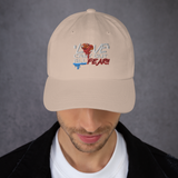 Love Cast Out All Fear Dad hat