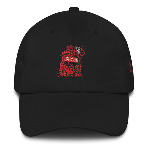 Savage King Dad hat