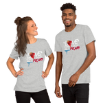 Love Cast Out All Fear Short-Sleeve Unisex T-Shirt
