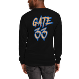 Gods Master Piece Gate 33 Men's Long Sleeve Shirt