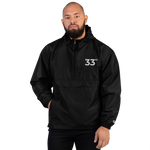 33rd Embroidered Champion Packable Jacket