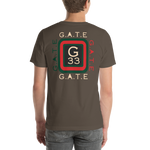 Classic Gate 33 Short-Sleeve Unisex T-Shirt