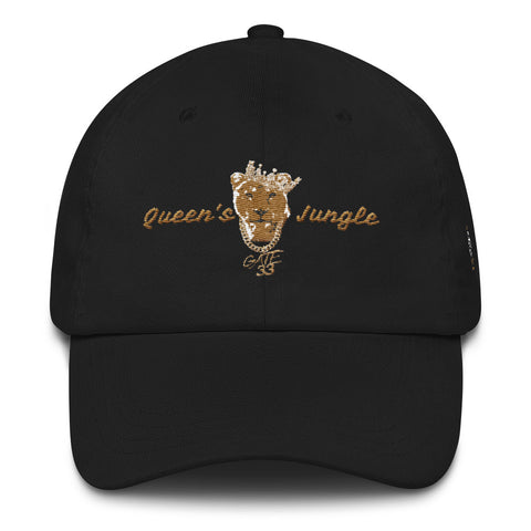 Queen of the Jungle Dad hat