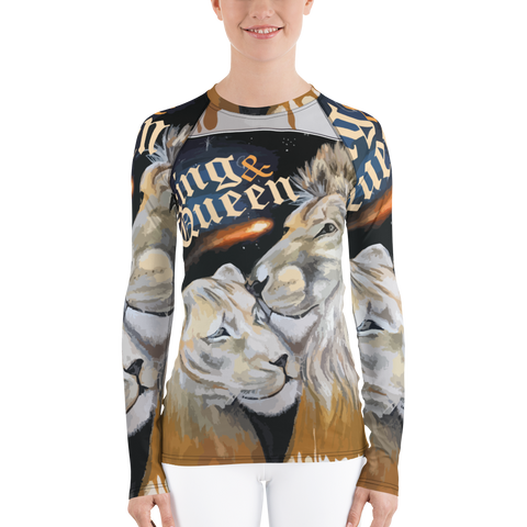 KING & QUEEN Women's Rash Guard