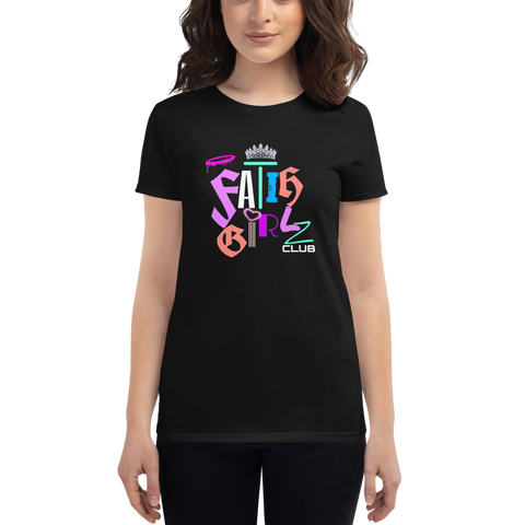 Faith Girl Club Women's short sleeve t-shirt