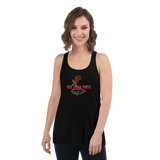 Rose Among Thorns Women's Flowy Racerback Tank