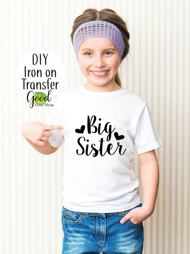 Big Sister Iron-On