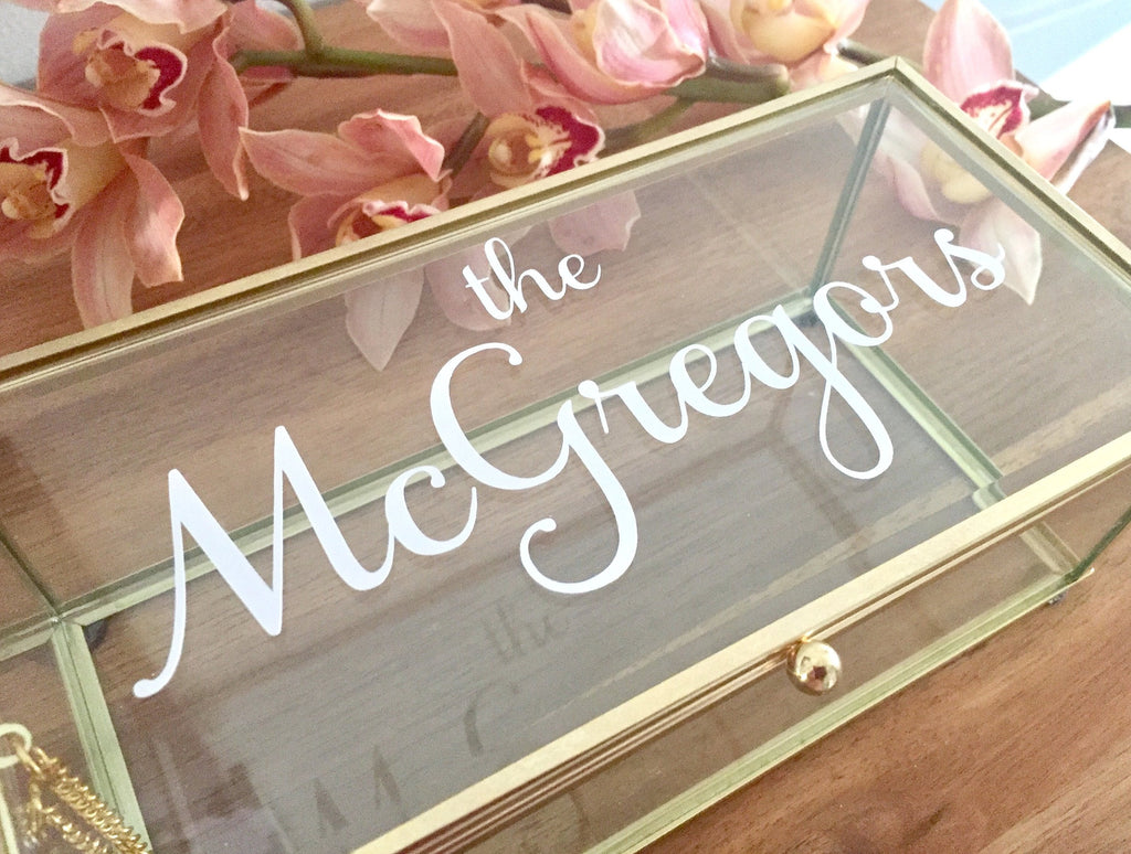 Wedding Decal With Name