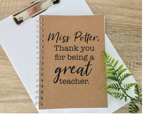 Great Teacher Notebook