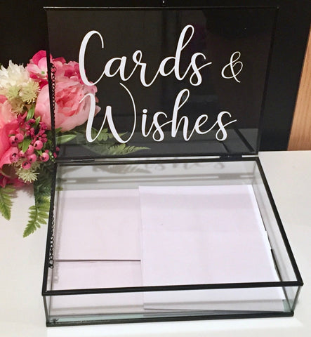Cards & Wishes Decal