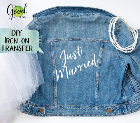 Just Married Iron-On