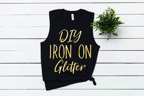 Custom Iron-On Glitter