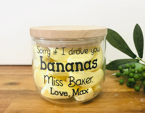 Banana Jar Decal
